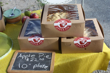 Sunrise Orchard's Apple Pie